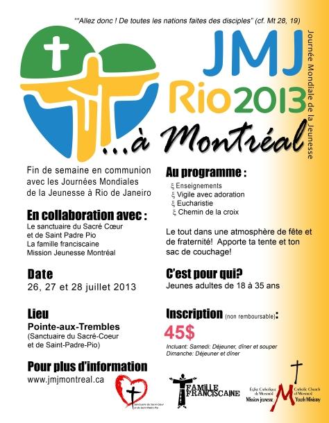 Affiche JMJ de Mtl