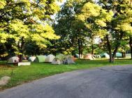 Site des tentes