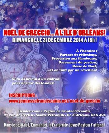 Greccio affiche 2014