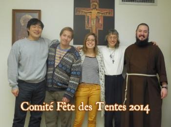 Comité Fête des Tentes 2014
