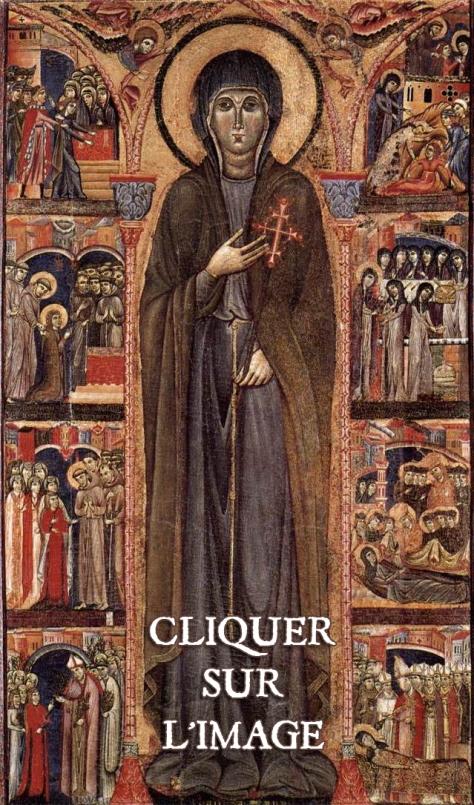 Retable sainte Claire d'Assise