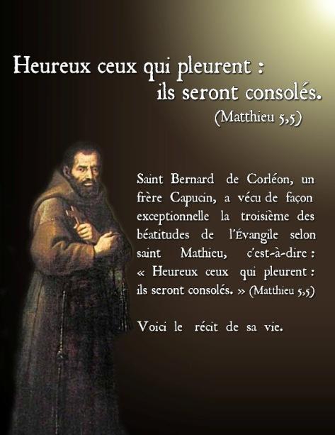 3 Heureux ceux qui pleurent 1 st Bernard