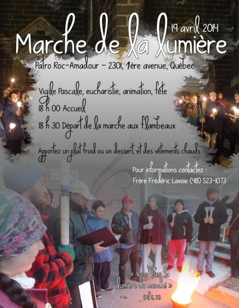 Marche de la Lumière 2014