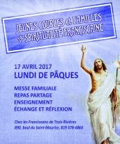 Affiche Jeunes Famille Mauricie 17 avril 2017