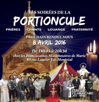 Affiche Portioncule avril 2016