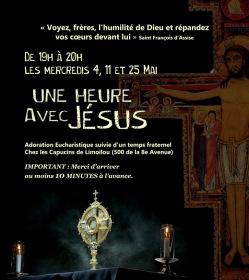 Une heure d'Adoration (mois de mai)