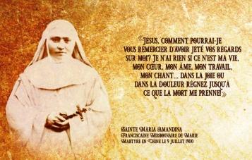 Sainte Maria Amandina FMM