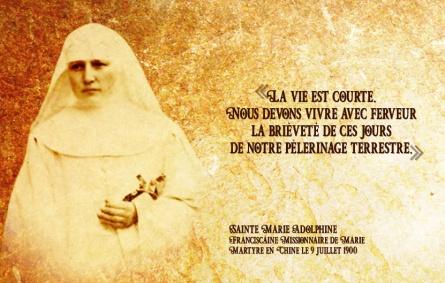Sainte Marie Adolphine FMM