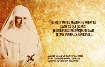Sainte Marie de Sainte Nathalie FMM