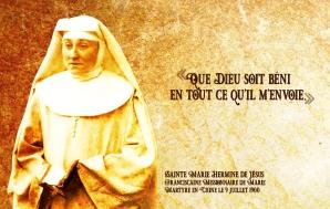 Sainte Marie Hermine de Jésus FMM