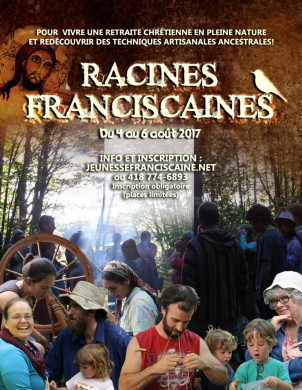 RACINES FRANCISCAINES AFFICHE 2017