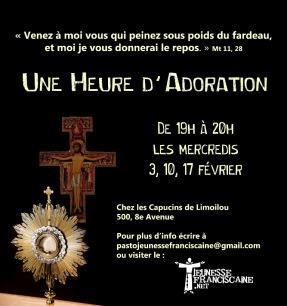 Une heure d'Adoration