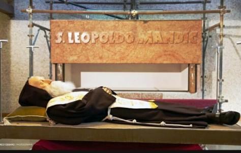 Léopold Mandic dépouille mortelle
