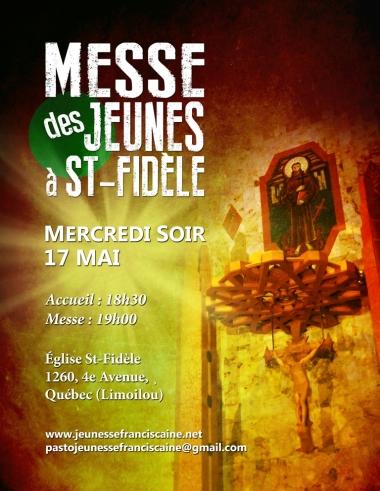 Messe Jeunesse à St Fidèle mai 2017