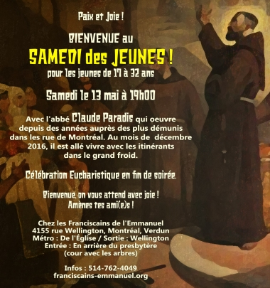 Samedi des Jeunes mai 2017