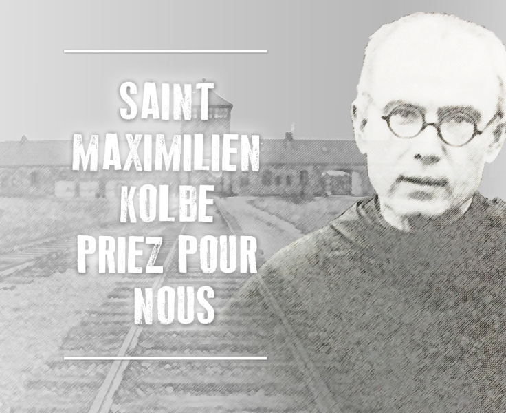 Maximilen Kolbe - Priez pour nous