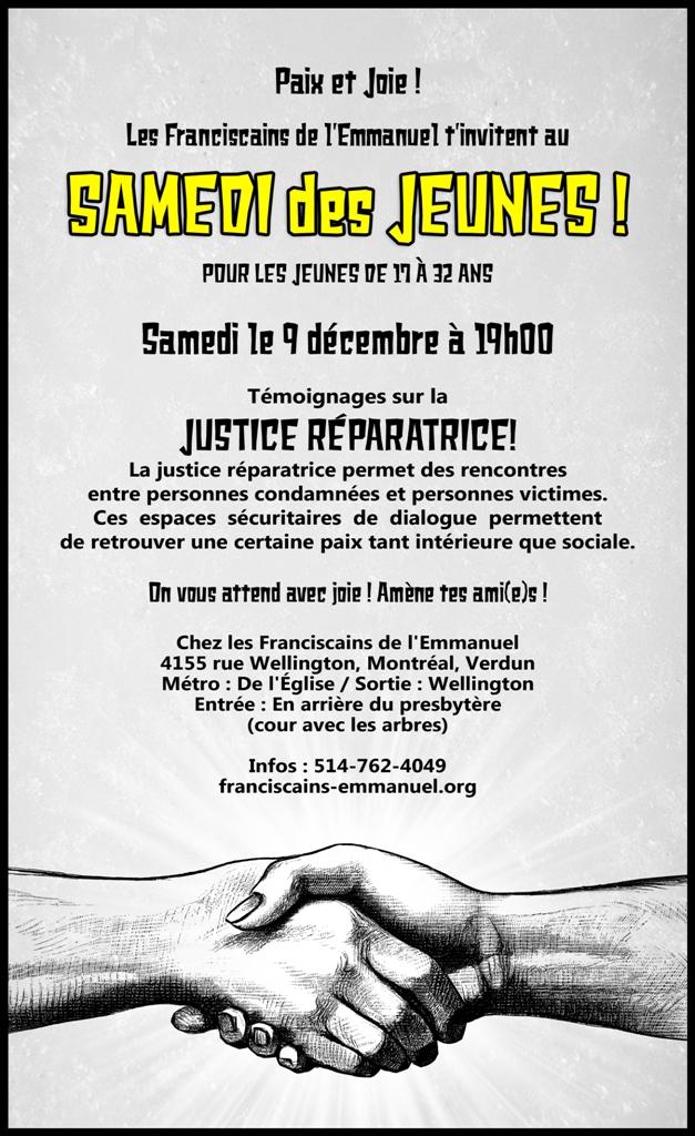 Samedi des Jeunes décembre 2017