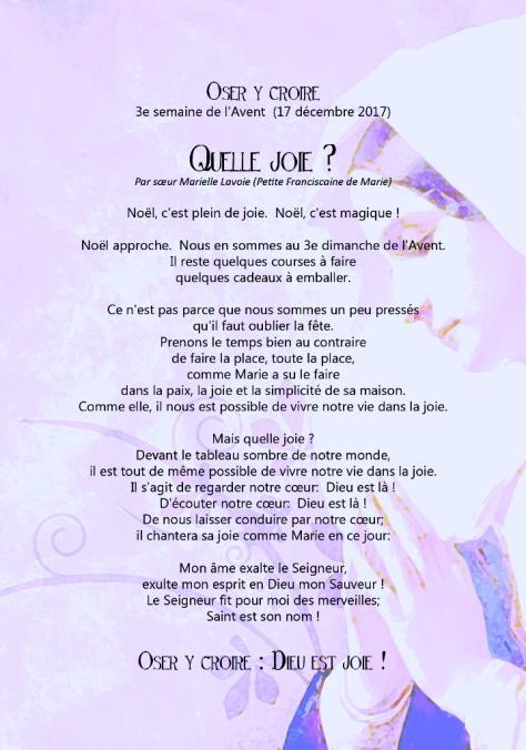 AVENT 3 (sr Marielle)