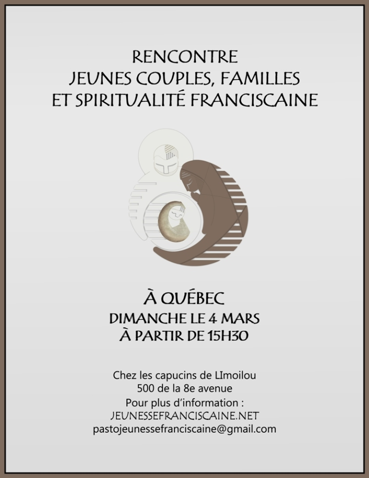 Affiche rencontre Jeunes Couples et Familles mars 2018