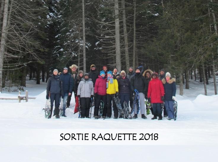 Groupe Sortie Raquette 2018