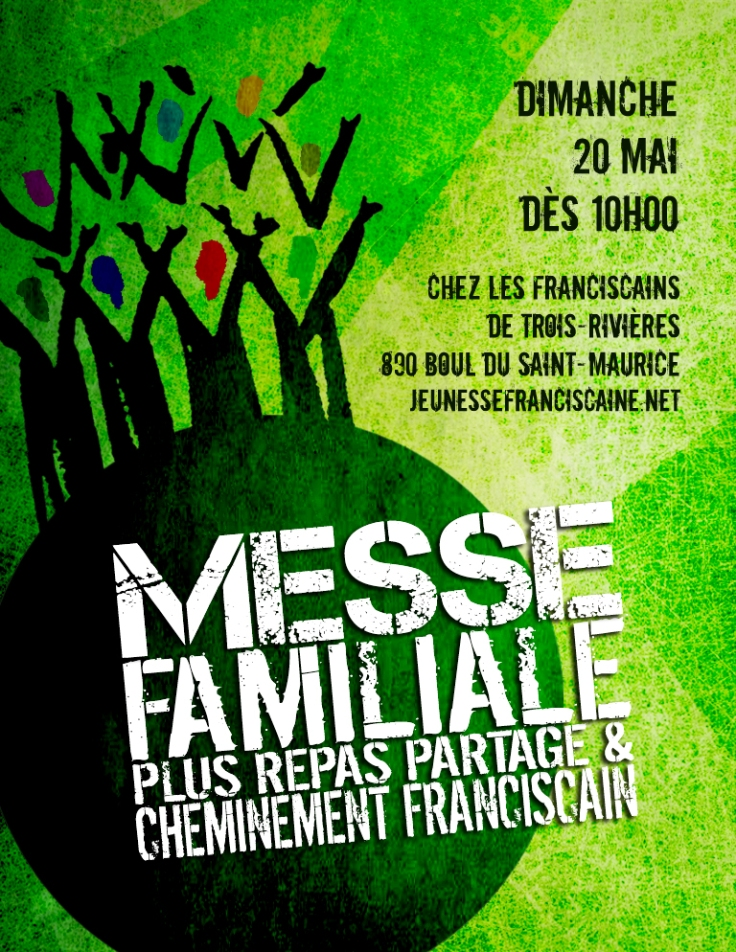 Affiche Messe Familiale à TR mai 2018