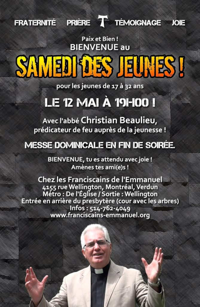 Samedi des Jeunes mai 2018