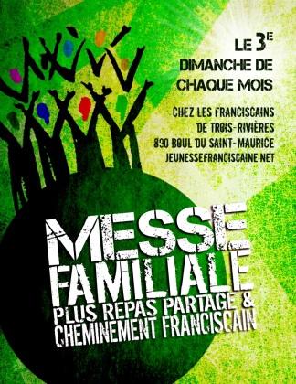 Affiche Messe Familiale à TR 2018