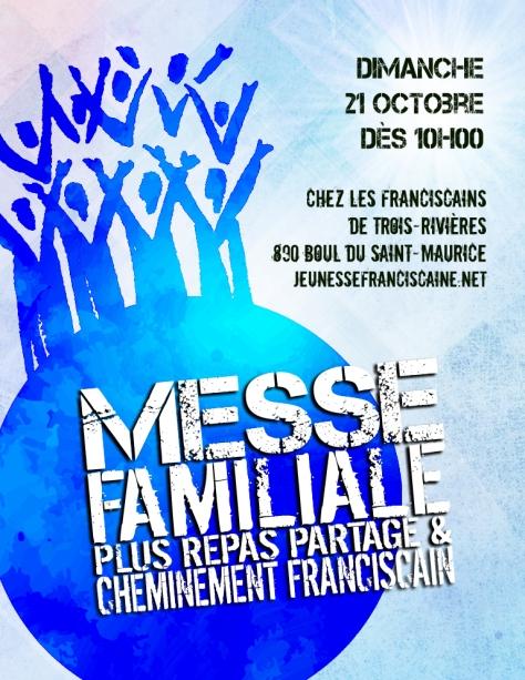 Affiche Messe Familiale à TR octobre 2018