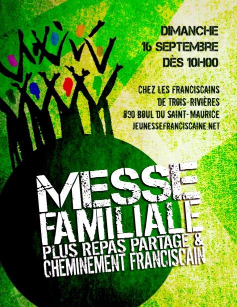 Affiche Messe Familiale à TR septembre 2018