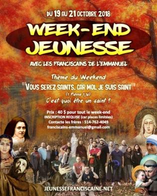 Affiche WEJeunesse octobre 2018
