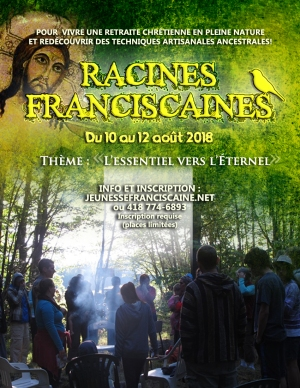 RACINES FRANCISCAINES AFFICHE 2018