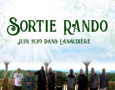 SORTIE RANDO 2019