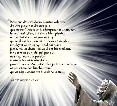 Francois d'Assise - N'ayons d'autre désir
