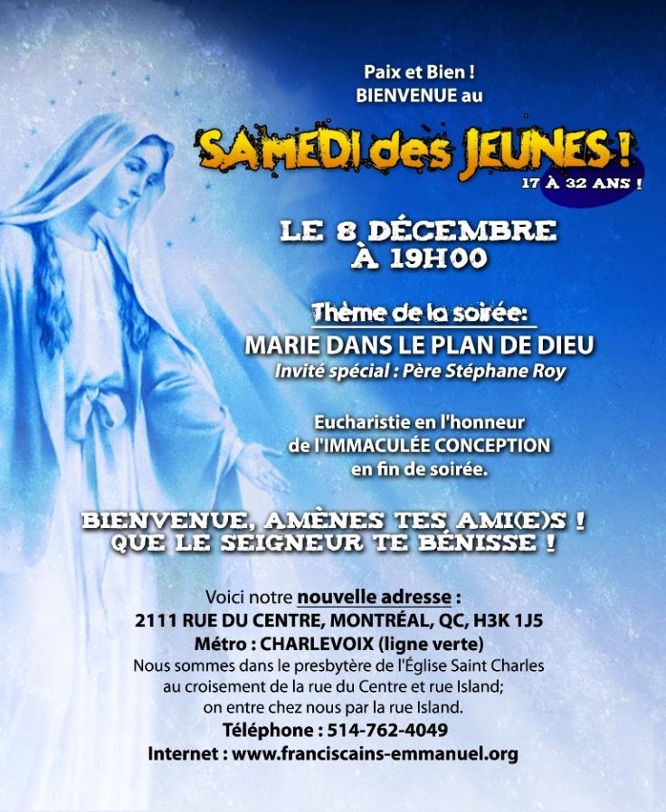 Samedi des Jeunes décembre 2018