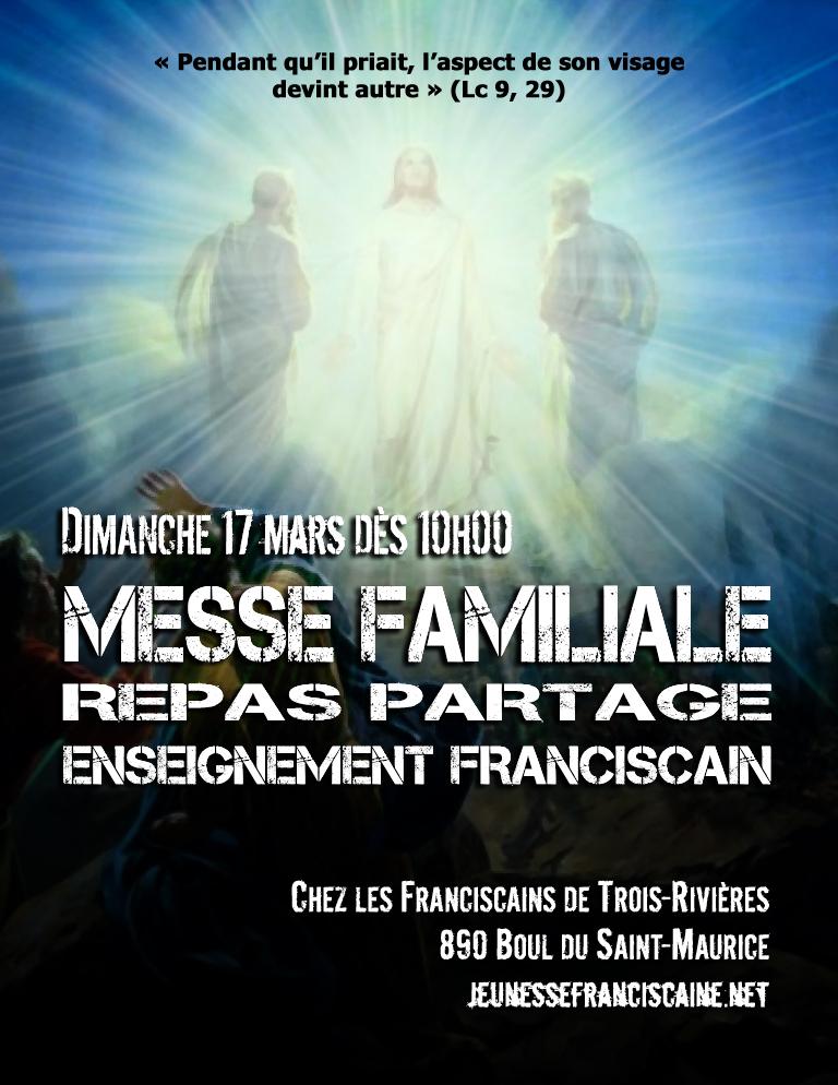 Affiche Messe Familiale à TR mars 2019