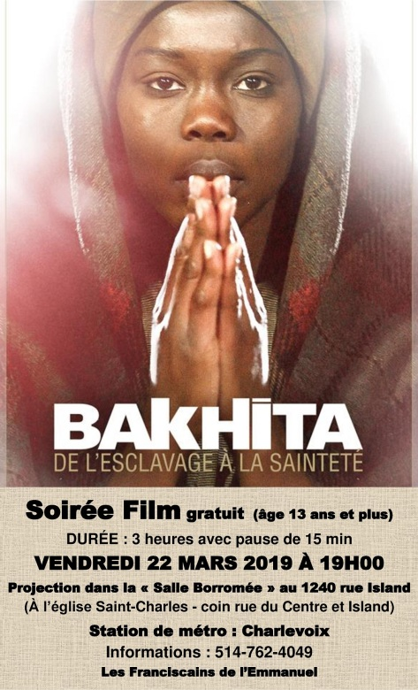Projection du film « Bakhita »