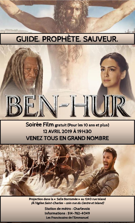 Projection du film « Ben Hur »