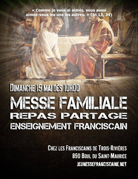 Affiche Messe Familiale à TR mai 2019
