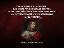 Bonaventure - De la science à la sagesse