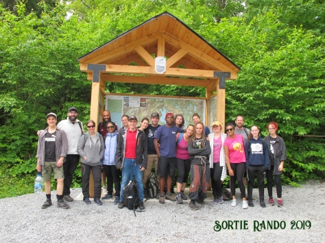 Groupe Sortie Rando 2019