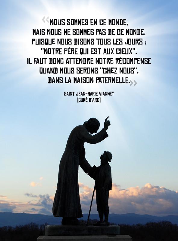 4 août : Fête de saint Jean-Marie Vianney (Curé d'Ars)