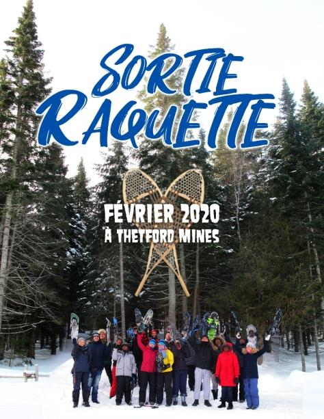 SORTIE RAQUETTE 2020 février