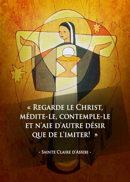 11 août : Fête de sainte Claire d'Assise